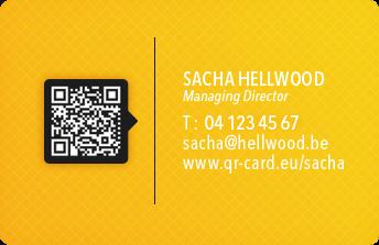 Carte De Visite En Ligne QR Card